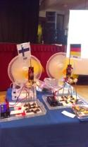 K-nex windmills powered by desk fans