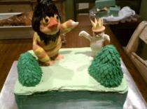 Where the Wild Things Are - Cake