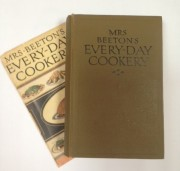 Mrs Beetons Everyday Cookery book cover