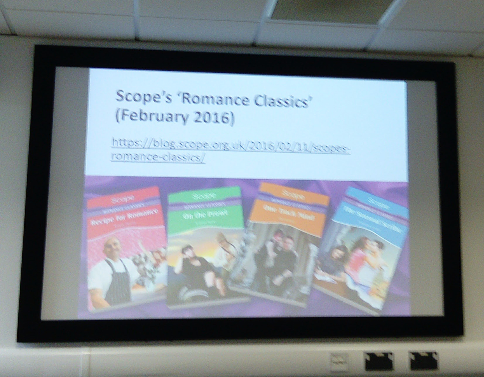 Covers from Scope's Romance Classics (2016)