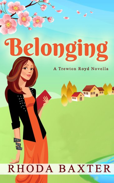 Book cover for Belonging small town romance